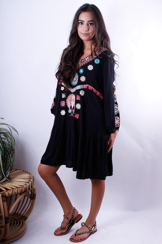 Ibiza Dress Black