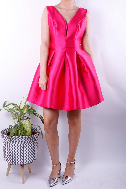 philip dress fuchsia