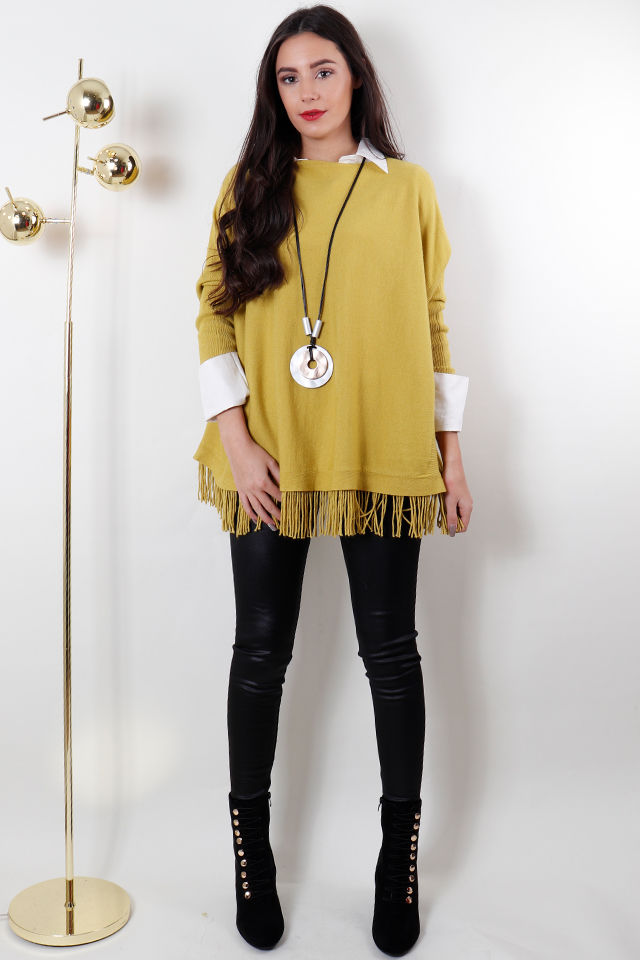 the tassel knit sulphur
