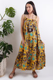 Out of Africa Jungle Maxi Dress