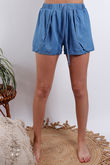 Santorini Shorts Chambray