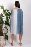 Silk Road Ombre Dress Khaki-Copy