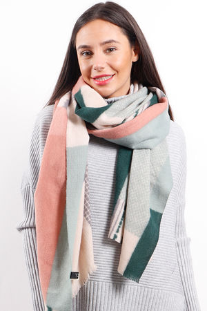 The Cubist Scarf