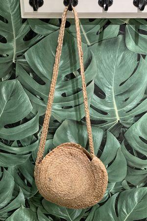 Circle Straw Bag Natural