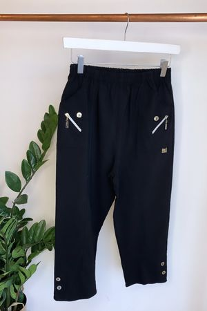 The Hepburn Pant Black