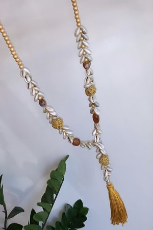The Shell Tassel Necklace