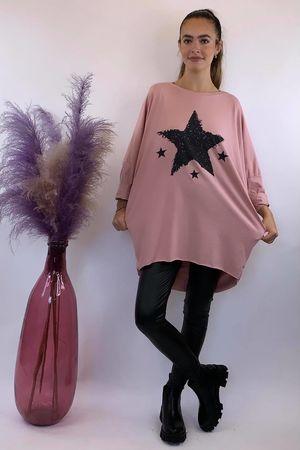 4 Star Popoon Tunic Blush