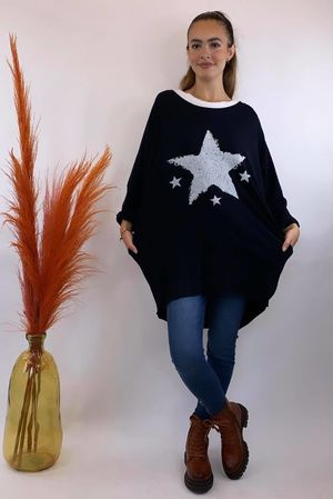 4 Star Popoon Tunic Navy