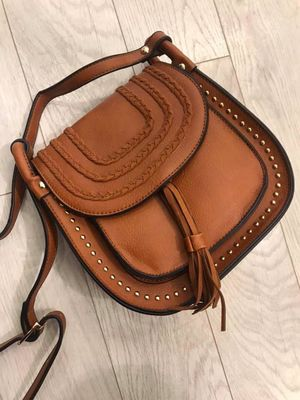 The Randles Saddle Bag Dark Tan
