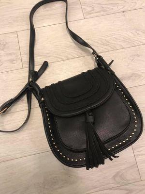 The Randles Saddle Bag Black