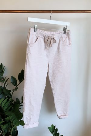 The Crinkle Smart Jogger Blush