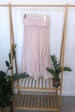 Bandeau Skirt Dress Blush