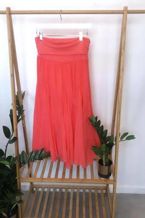Bandeau Skirt Dress Melon