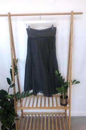 Bandeau Skirt Dress Slate