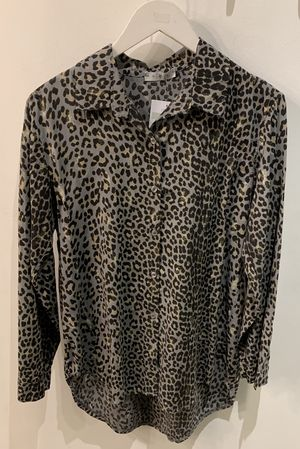 Made In Italy Leopard Shirt