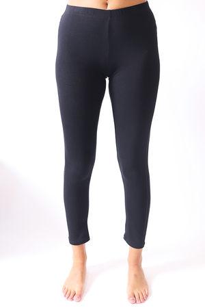 Malissa J Silver Bling Side Legging Black