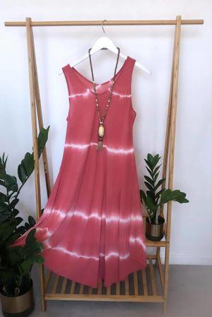 Storm Midi Swing Dress Terracotta