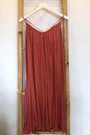 Tie Back Culotte Jumpsuit Terracotta