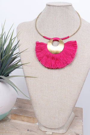 Africa Fan Necklace