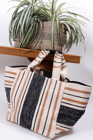 Antibes Stripe Bag