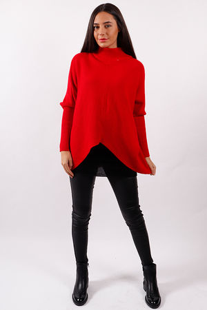 Made In Italy Archie Knit Red