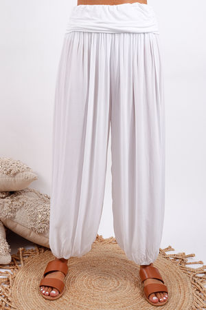 Balloon Pant White