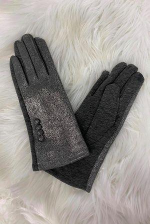 Benji Metallica Gloves Pewter