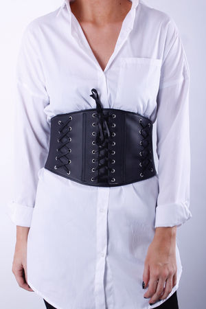 Black Corset Belt