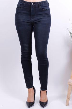 Black High Waisted Stretch Jean