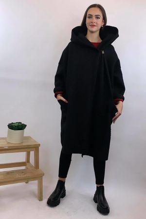 Boucle Benji Coat Black *Pre Order 23/10/20*