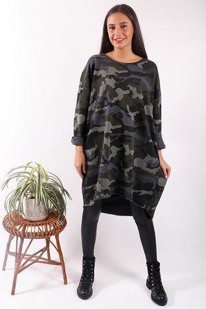 Camo Tunic Dress