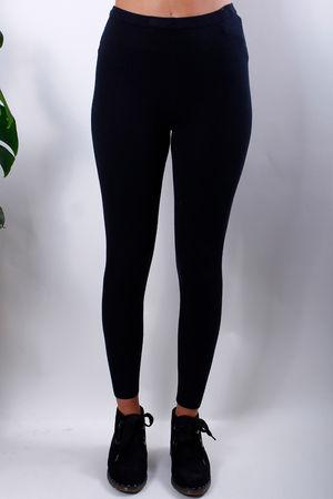 Cashmere Leggings Black