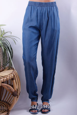 Chambray PJ Pants