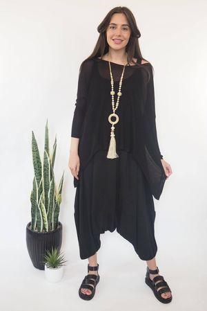Classic Lux Fine Knit Black