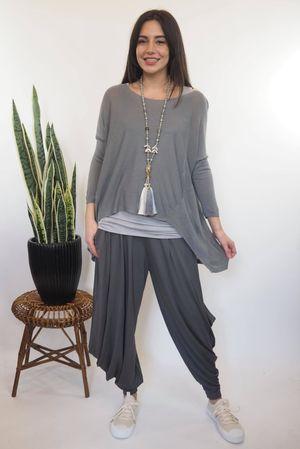 Classic Lux Fine Knit Slate