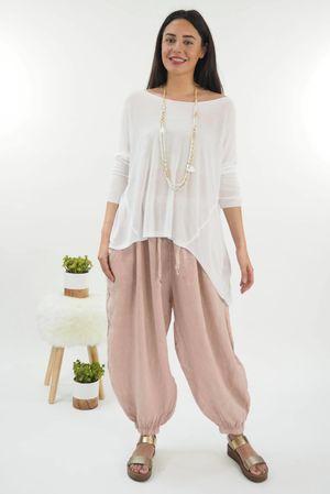 Classic Lux Fine Knit White *