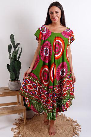 Cool Print Swing Dress