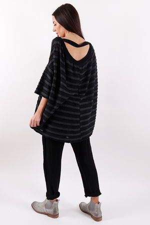 Copenhagen Keyhole Top Black