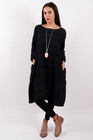 Copenhagen Textured Tunic Black