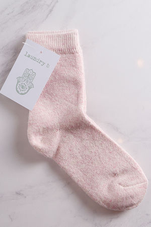 Cosy Toes Socks Blush