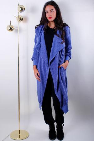 Courtney Cuddle Coat Indigo