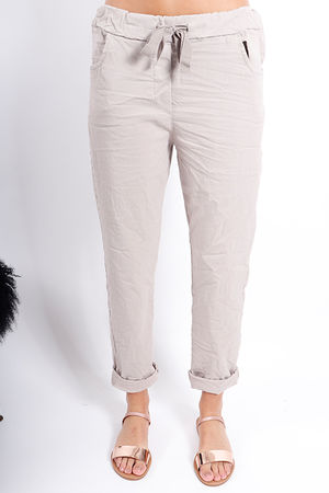 The Crinkle Smart Jogger Stone