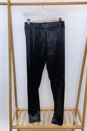 Curve Leather Look Leggings Black