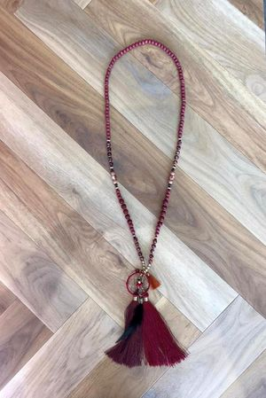 The Doha Dreamcatcher Necklace Rioja
