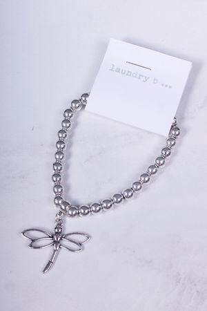 Dragon Fly Bracelet Silver