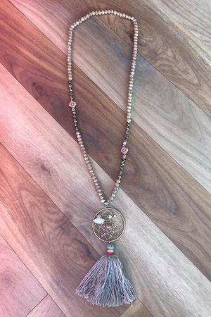 Dreamcatcher Tassel Necklace