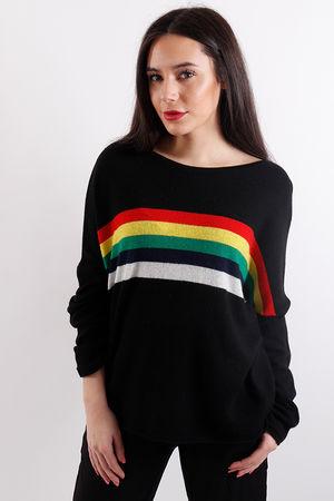 Earn Your Stripes Knit Black