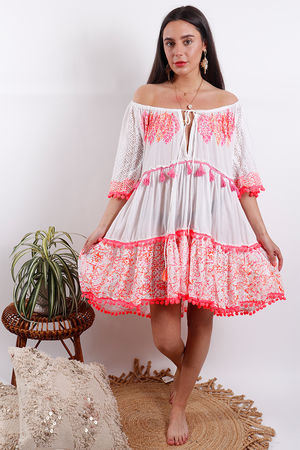 Eivissa By Oceane Dress Pink