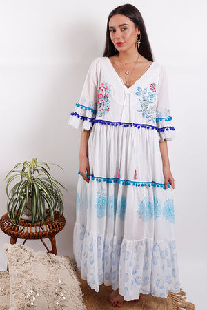 Eivissa By Oceane Maxi Dress Blue
