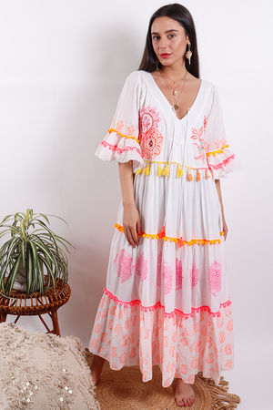 Eivissa By Oceane Maxi Dress Pink